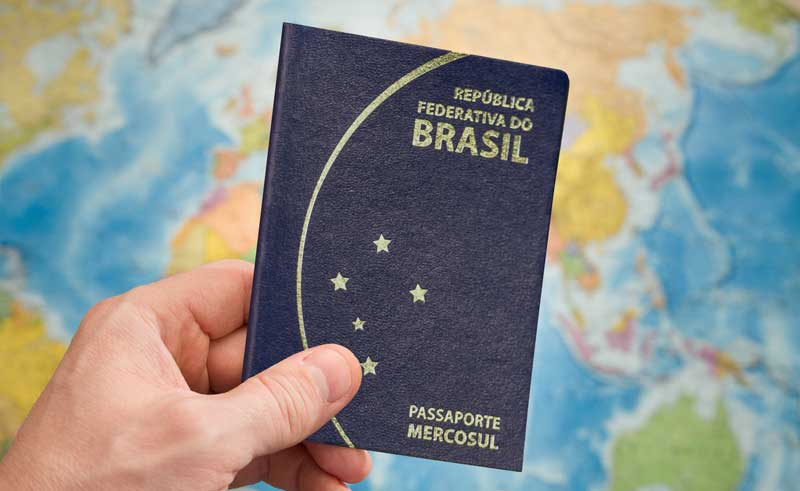 cópia autenticada do passaporte