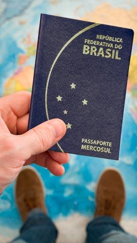 passaporte renovado