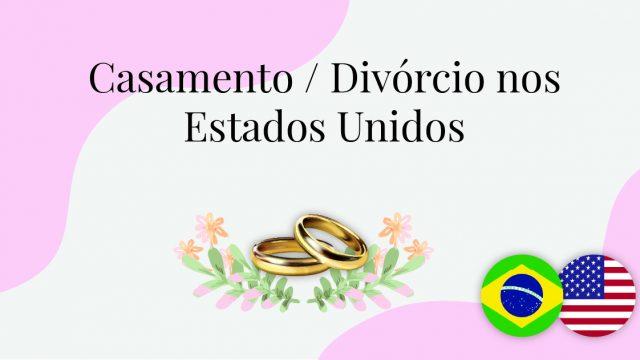 Casamento - Divórcio nos Estados Unidos